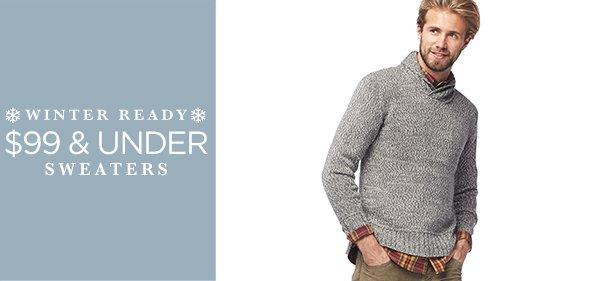 $99 & Under: Sweaters