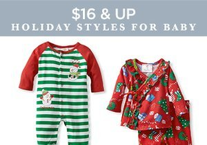 $16 & Up: Holiday Styles for Baby