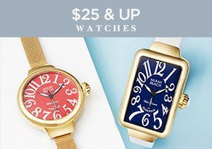 $25 & Up: Watches