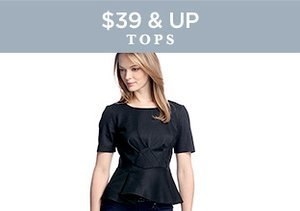 $39 & Up: Tops