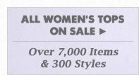 All Womens Tops on Sale