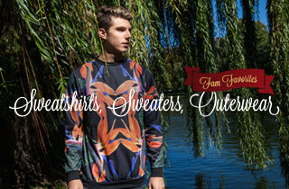 Fam Favorites: Sweatshirts, Sweaters, Outerwear
