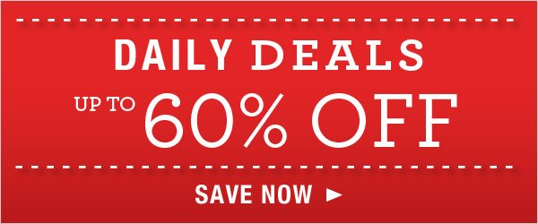 Up to 60% off Daily Deals