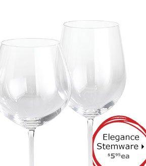 Elegance Stemware