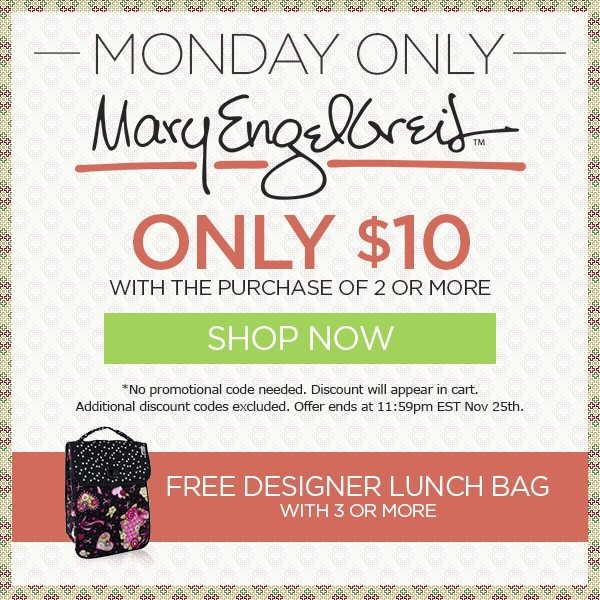 Mary Engelbreit Only $10 + FREE Designer Lunch Bag with 3 or More - Shop Now