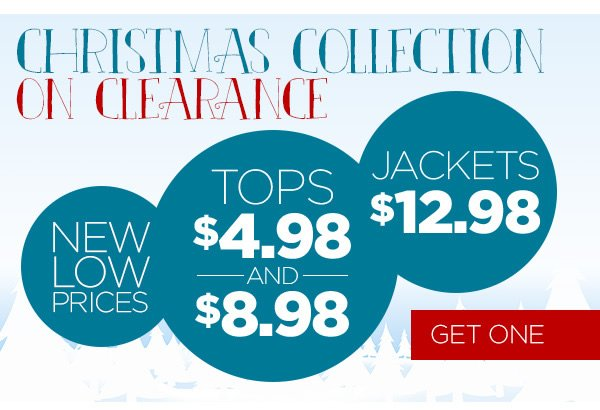 Christmas Collection on Clearance - Get One Now