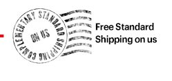 + Free Standard Shipping