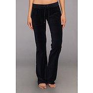 Juicy Couture Original Velour Bootcut Pant w/ Snap Pocket