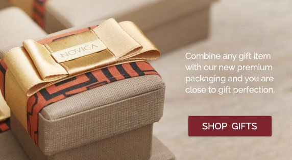 Combine any gift item with our new premium packaging and you are close to gift perfection.
