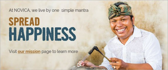 We live by one simple mantra - Spread Happiness - Visit our mission page to learn more