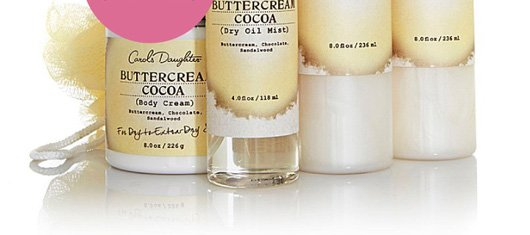 Buttercream Cocoa Bath & Body Collection