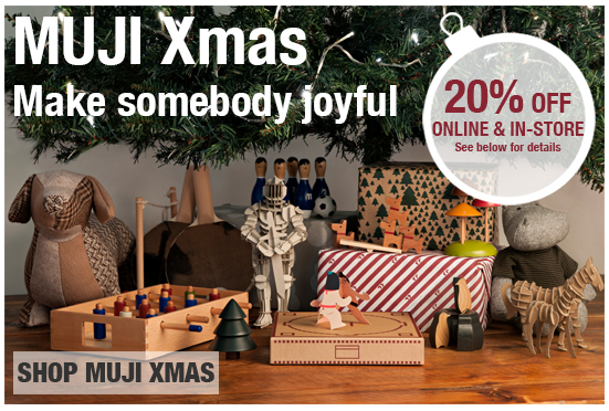 Joyful games and toys from MUJI