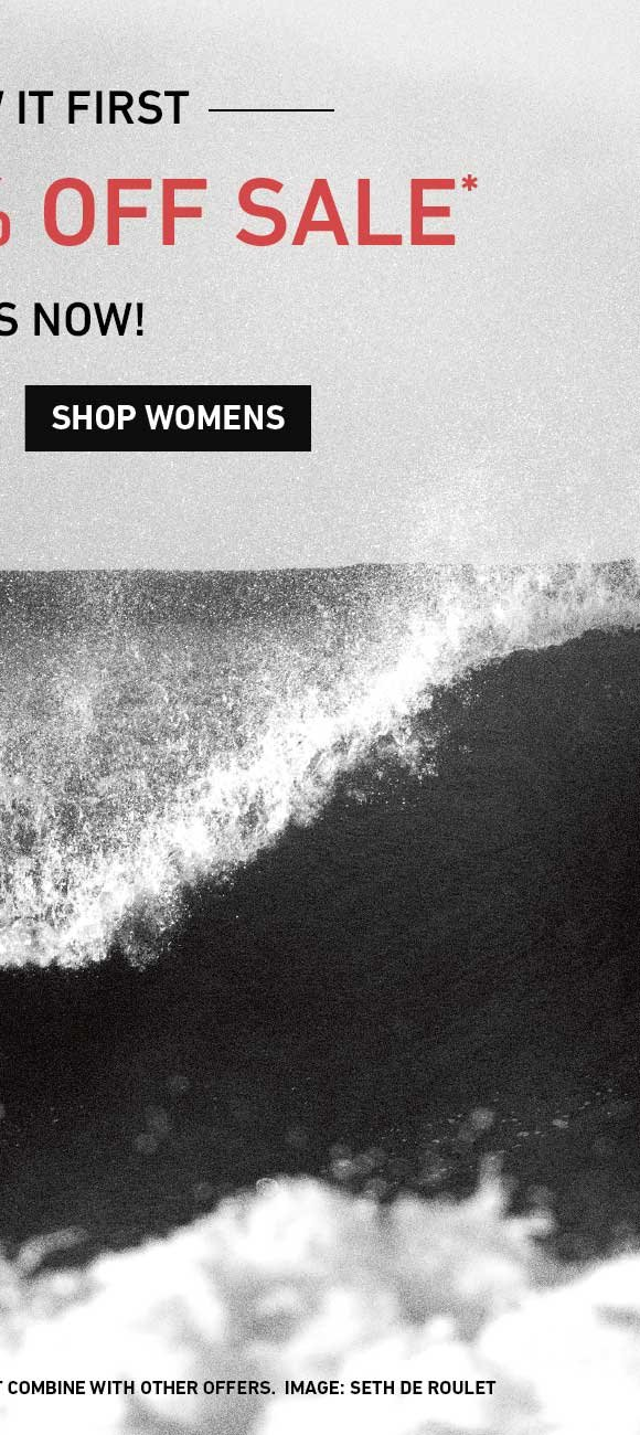 You Saw It First: Shop Women's Extra 40% Off Sale.