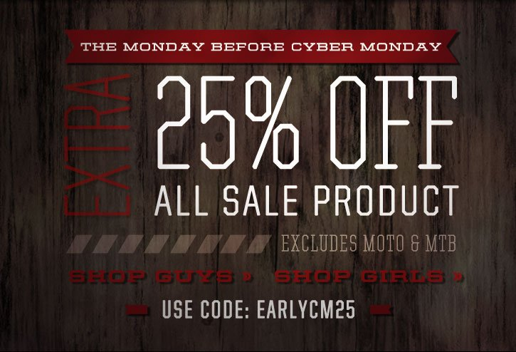 Extra 25% Off Sale!