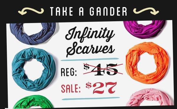 Inifnity Scarves