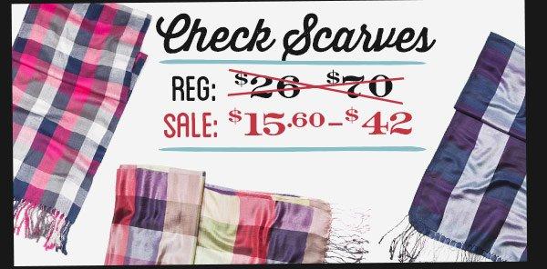 Check Scarves