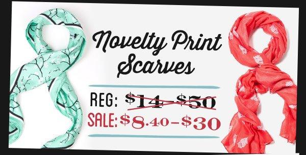 Novelty Scarves