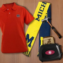 NCAA Cheer Section: Gifts for Dad