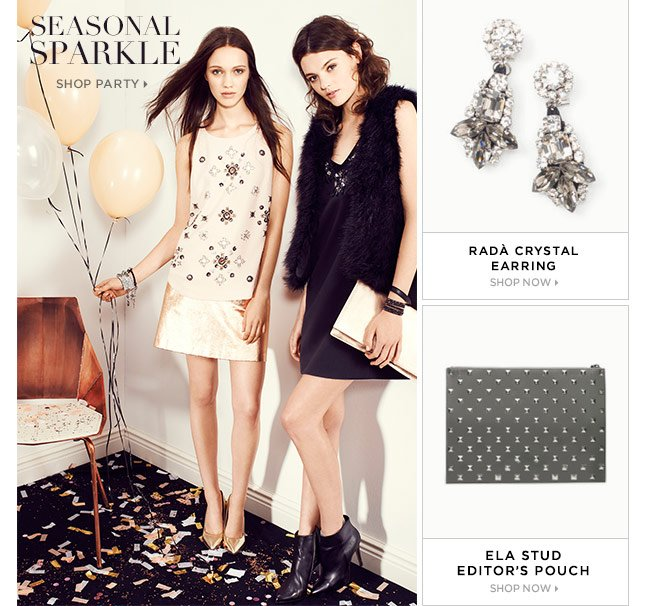 Seasonal Sparkle: Shop Party Looks