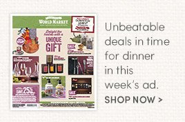 Unbeatable deals in time for dinner in this week's ad. Shop Now