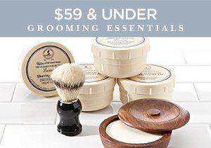 $59 & Under: Grooming Essentials