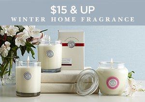 $15 & Up: Winter Home Fragrance