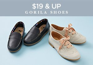 $19 & Up: Gorila Shoes