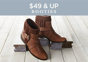 $49 & Up: Booties