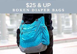 $25 & Up: Boken Diaper Bags