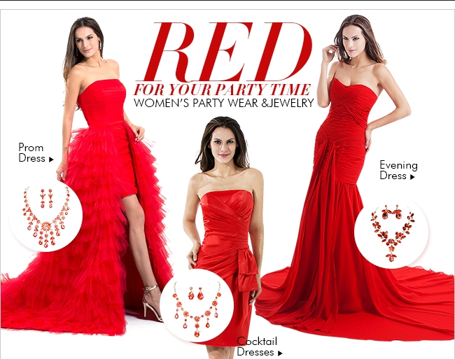 Red For Your Party Time