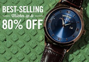 Shop Best-Selling Watches: Up to 80% Off