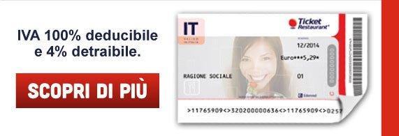 IVA 100% deducibile e 4% detraibile. Scopri di più!