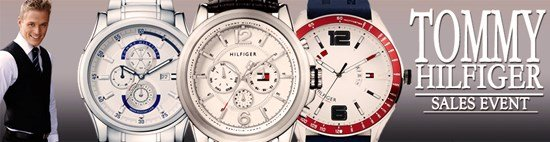 Save up to 64% during the Tommy Hilfiger Watches sales event