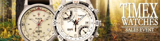 Save up to 55% during the Timex Watches sales event