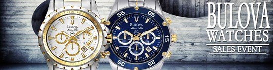 Save up to 59% during the Bulova Watches sales event