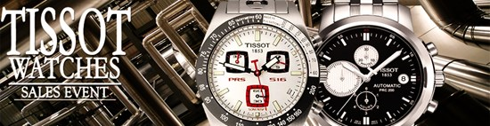 Save up to 58% during the Tissot Watches sales event