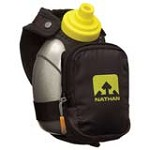 Nathan 4836NB QuickShot Plus Hydration Handheld Bottle Carrier Pack, Black
