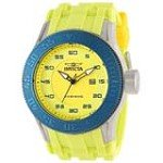Invicta 11948 Men's Pro Diver Yellow Dial Yellow Rubber Strap Steel Watch