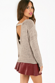 Warm Me Knit Sweater 46