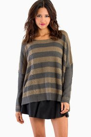 Pearly Stripes Sweater 42