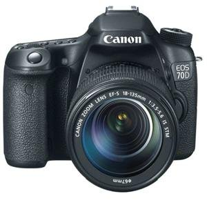 Adorama - Canon 70D Digital SLR Camera With 18-135mm Lens