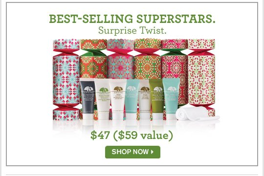 BEST SELLING SUPERSTARS Surprise Twist 47 dollars 59 dollars value SHOP NOW