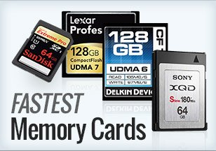 Fastest memory cards