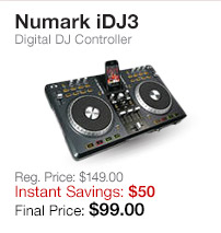Numark iDJ3