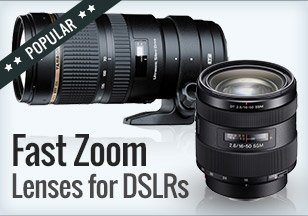 Fast Zooms Lenses