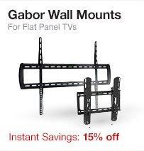 Gabor Wall Mounts