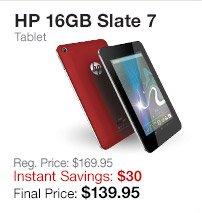 HP 16GB Slate 7