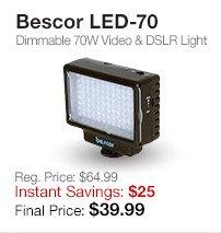 Bescor LED-70