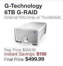 G-Technology 6TB