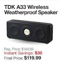 TDK Wireless Speakers